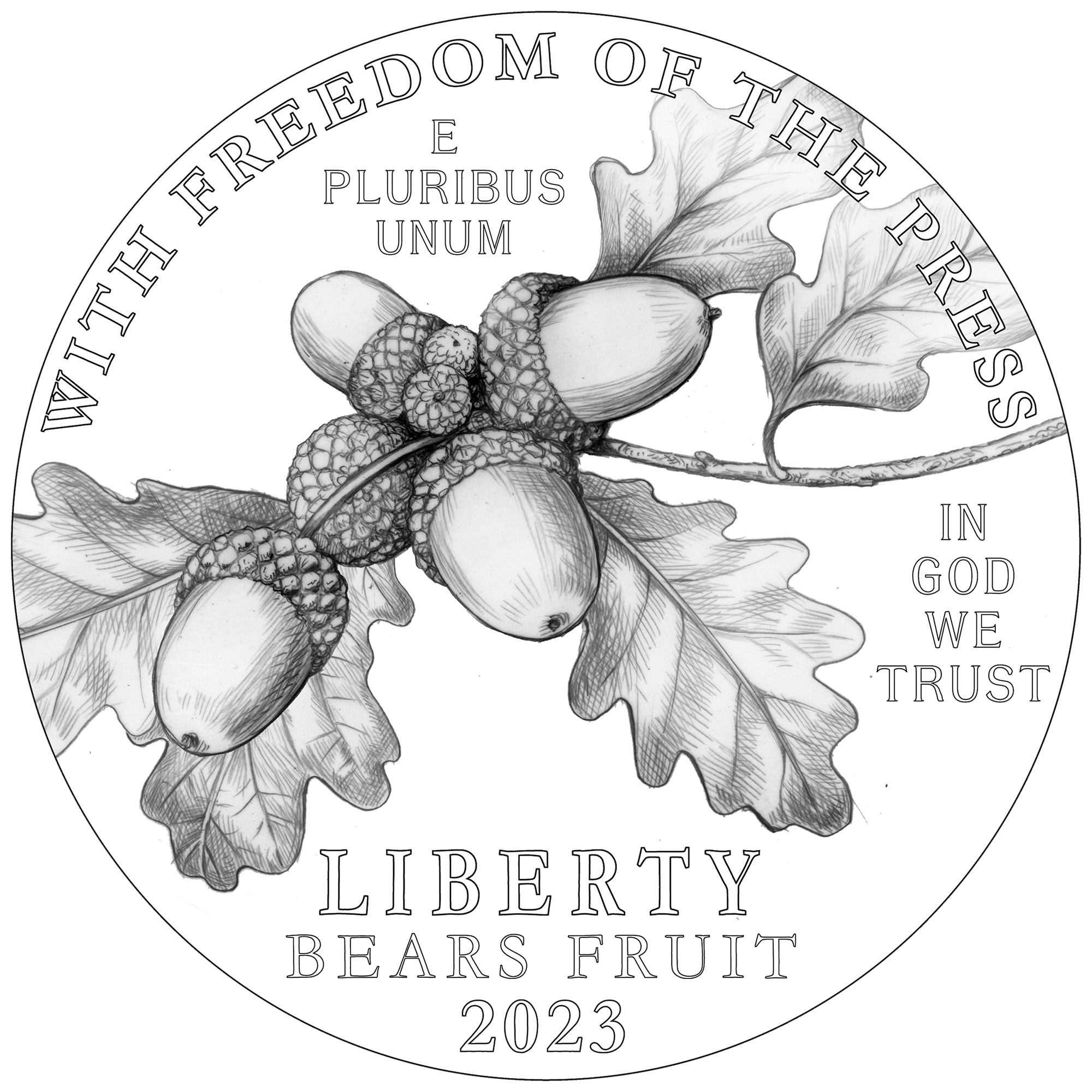 2023 Platinum Proof Coin
