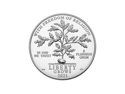 2021 Platinum Proof coin